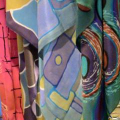 Silketørklæder - solgt