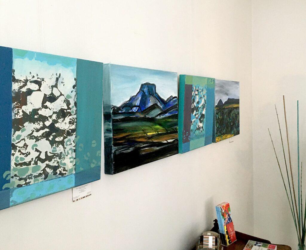 udstilling susanne egfjord malerier billedkunst