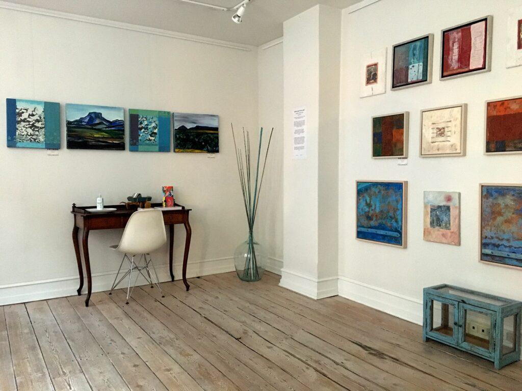 galleri se16 susanne egfjord billedvæg maleri udstilling